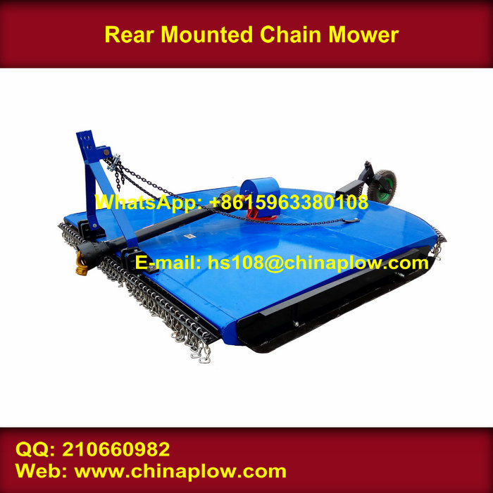 Farm machinery new tractor mounted chain mower hot sale