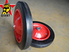 "South Africa wheelbarrow solid rubber wheel 13""x3"""