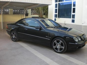 Good CL 500 Mercedes Benz In Oman Car