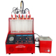 Petrol car fuel injector cleaning tool cleaner and analyzer tester with ultrasonic