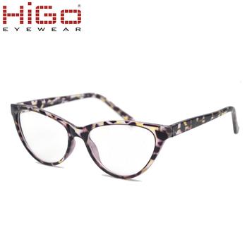 5384dd5b439 Latest trends Cat Eye shape injection optical frame prescription glasses  Italy designer eyewear frames funny eye