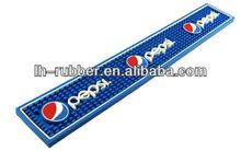 "Rubber Bar Mat 11"" x 10"" , Beer Rubber Bar Runner/mat"