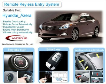 Pke Push Button Start Remote Keyless Starter Car Alarm System For