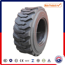 Solid rubber skid steer tires used on bobcat 10-16.5 12-16.5
