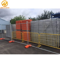 Australia Standard Galvanized Temporary Fencing With Concrete Filled Feet