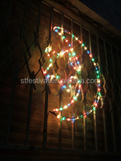 Most Inspiring Indoor Eid Al-Fitr Decorations - ramadan-eid-decoration-led-moon-and-star  HD_934735 .jpg