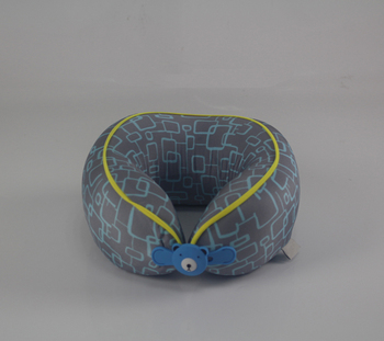 Newest Version Travel Pillow with Thermal Transfer Printing Child Neck Pillow