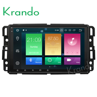 Krando Android 8.0 touch screen car dvd player for GMC acadia Tahoe Yukon 2007-2012 car navigation with gps bluetooth KD-GM962