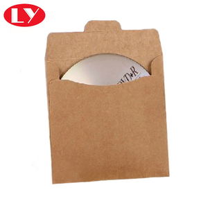 brown kraft DVD cover packaging envelope