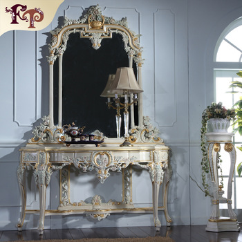 Antique French Provincial Bedroom Furniture Console Table
