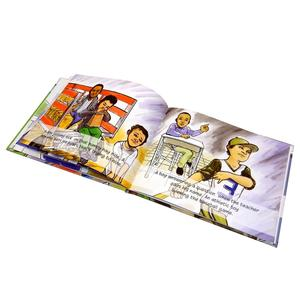 Factory volume discounts children comic book printing