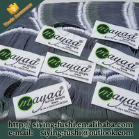 Personalized sewing label wholesale fabric size labels