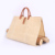 Heavy Duty Waxed Canvas big Firewood packaging bag carrier tote