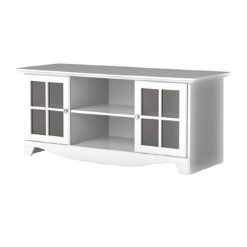 Hause Holz Weiß Tv Tisch Umweltfreundliche Mdf Tv Ständer Mit Matte
