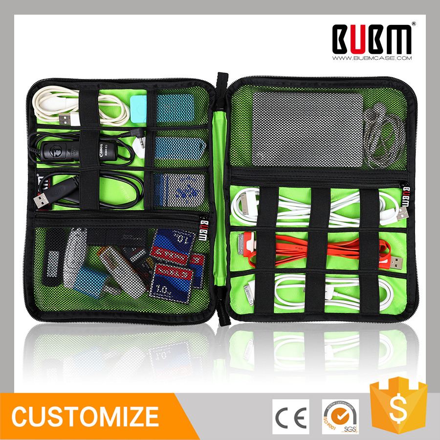 BUBM Best seller multifunction Organizer Bag case Digital Devices USB Data Cable Earphone Wire Pen Travel Insert Portable Bag