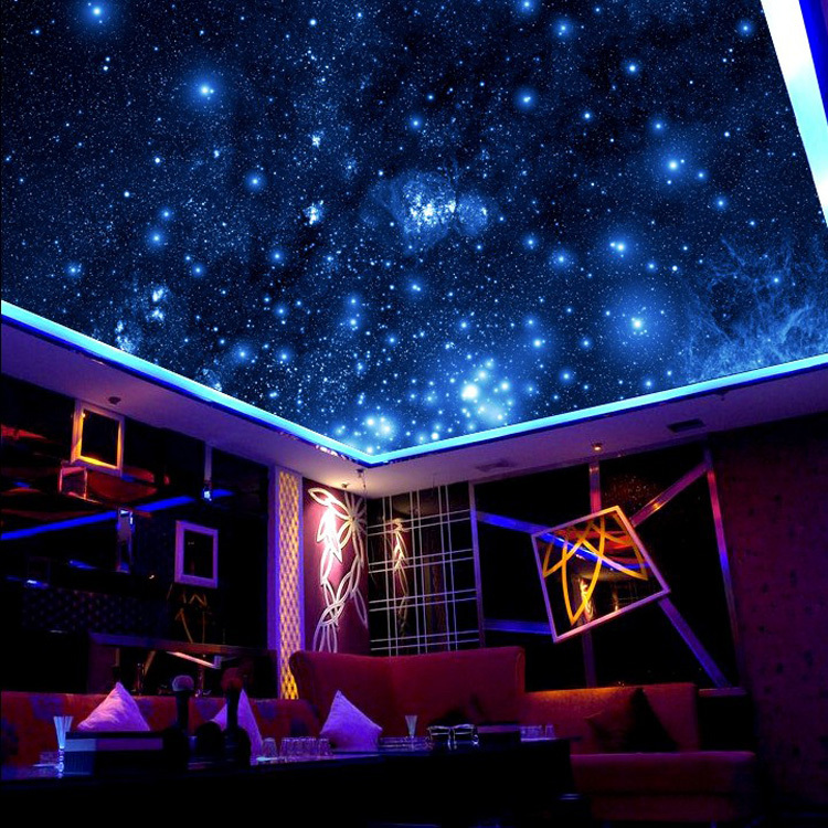 Outer space wall mural home design for Outer space stage design