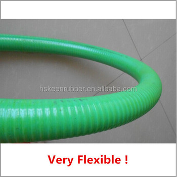 PVC flexible helix ribbed suction hose 8 Inch water pump hose for golding & Pvc Flexible Helix Ribbed Suction Hose 8 Inch Water Pump Hose For ...