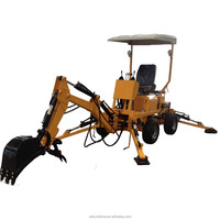 Runshine hot sale RXDLW22 towable backhoe excavator