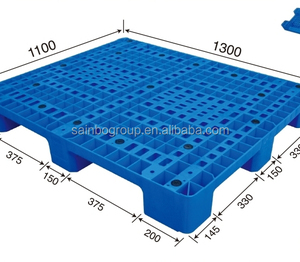 Cheap Blue Standard Euro Plastic Steel Pallets For Sale