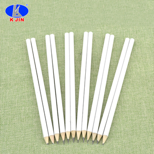 BSCI white outside HB pencil 7'' wooden HB pencil for school