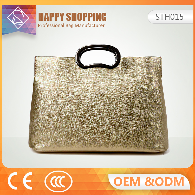 2017 New food grade design your own leather handbag high quality