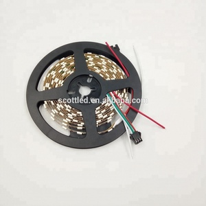 SK6812 DC5V 60pixels/M IP20 mini led strip SMD5050 RGB 5mm in LED strips