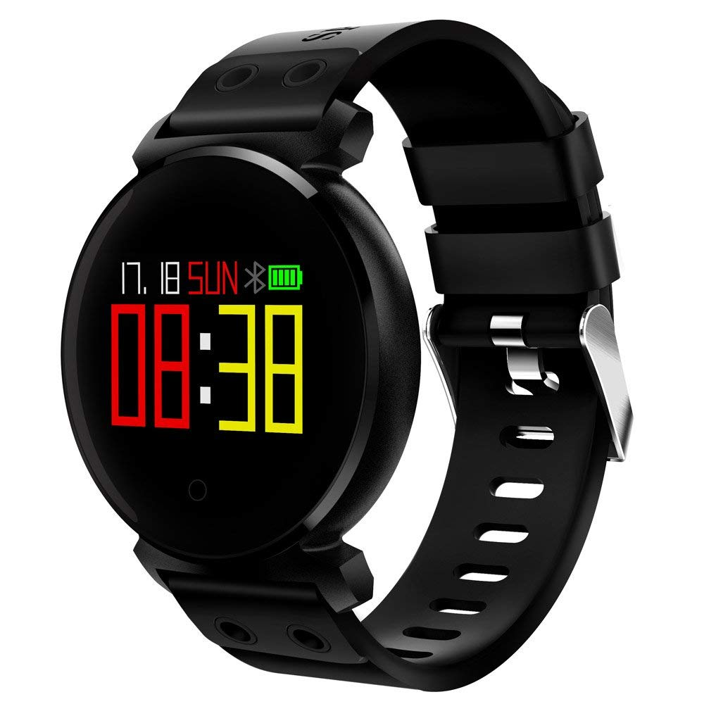 K2 Bluetooth Smartwatch Waterproof IP68 Heart Rate/Blood Pressure/Blood Oxygen Smart Watch For Ios/Android Phones