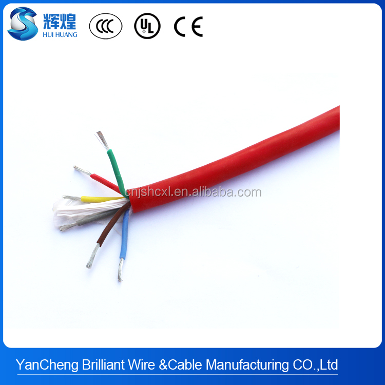 200deg.C silicone rubber and fiberglass electric wiring harness Wholesale