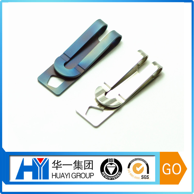 Different shape flat spring steel clips metal stamping clips