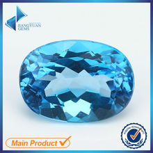 Large Size Oval Cut Natural Loose Aquamarine Stone