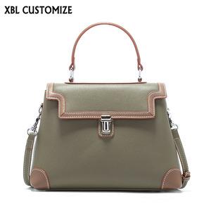 1122f6397c8f 2019 latest cow leather women shoulder bags vintage classic lady bags  multicolor sac femme