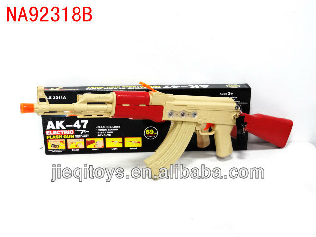 Boys favor plastic AK-47 flash TOY electric gun