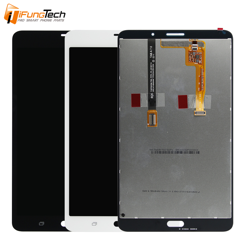 Mobile Phone Tablet Repair Parts Original LCD Display for Samsung Tab A 7.0 2016 T285 LCD with Touch Screen Digitizer Assembly