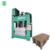 compressed wood pallet making machine wood pallet making machine for sale