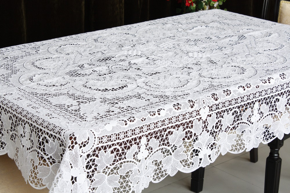 Shop Heritage Lace for decorative lace tablecloths. Seasonal patterns and designs inspired by Downton Abbey. Order online. Free shipping available.