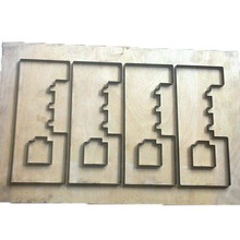 enquiries Simple Valve Casting bow cutting die for Cardmaking