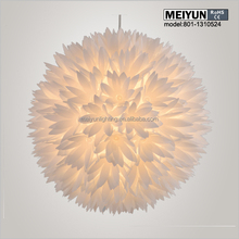 Modern design snowflake pendant chandelier lights with CE certificate