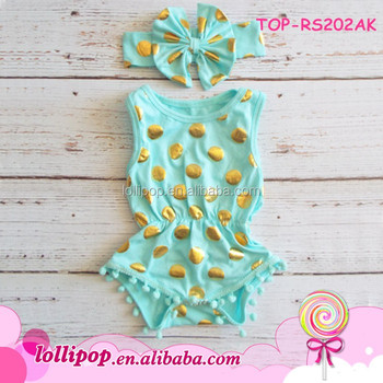 Fancy Baby Bubble Bodysuit Clothing Gift Set For Beach Clothes Travel