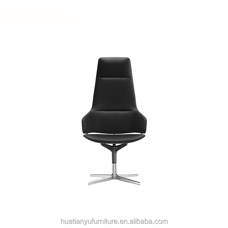 leather swivel office chair. Luxury Leather Swivel Office Chair Without Wheels - Buy Modern Chair,Office Armrest,Leather I