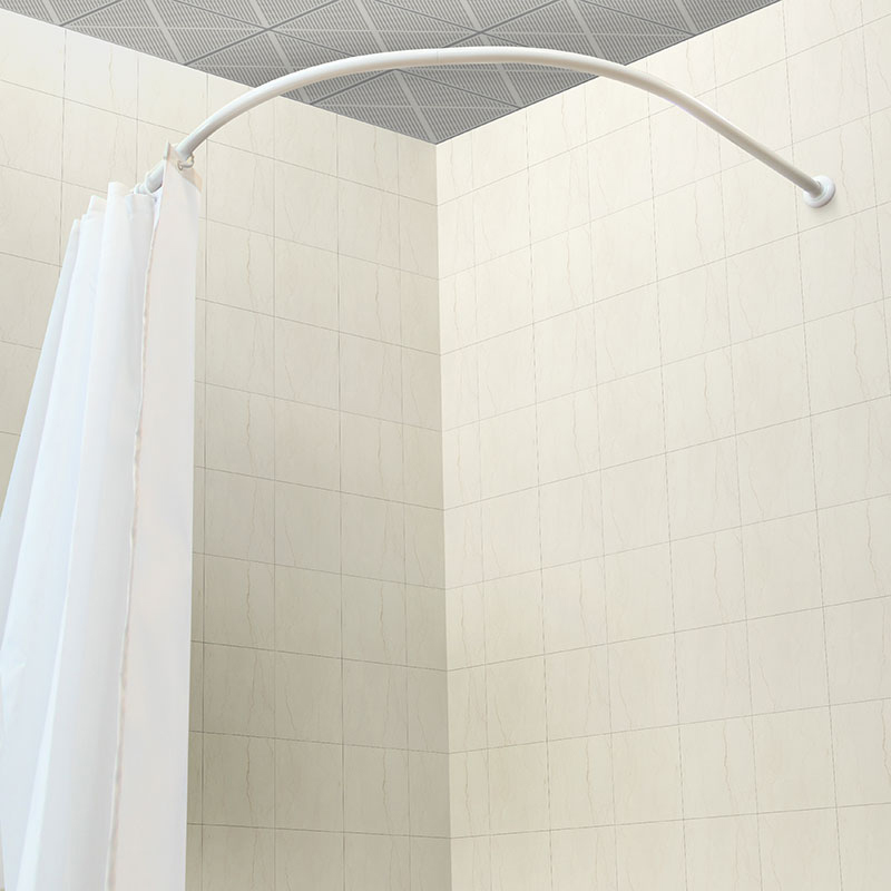 Bowed Shower Curtain Rod.Aluminum Material Bathroom Corner Curved Shower Curtain Rod Buy Shower Curtain Rod C Shape Shower Curtain Rod Assembly C Shape Shower Curtain Rod