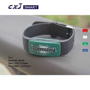 hot selling 13.56mhz NFC rfid wristband/watch buckle rfid bracelet