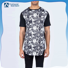 OEM fashion custom made cool fancy oversized screen printed tshirts bulk men wholesale China men's dry fit t shirt manufacturing