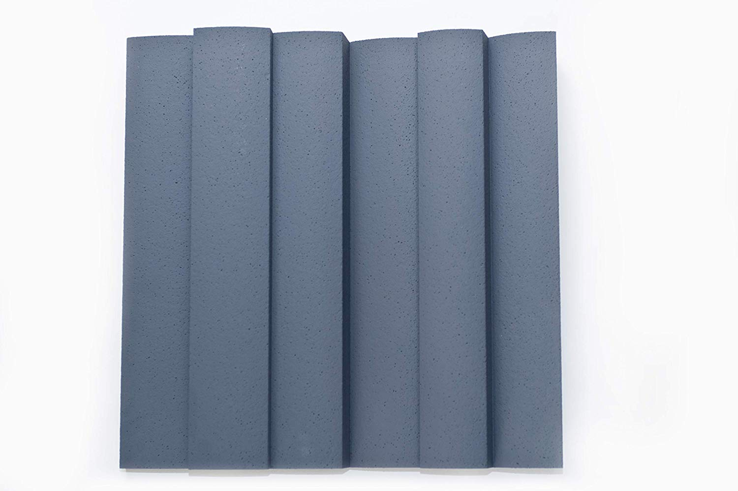 """JOCAVI ATP Wavyfuser Acoustic EPS Diffuser Panels, Recording Studio Tuned Absorber Sound Treatment, Grey, 23.6"""" x 23.6"""" x 5.12"""" (4-Pack)"""
