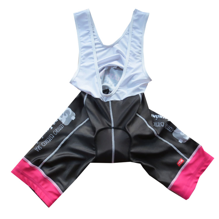 Specialized gel pad bike team quick dry cycling jersey with bib shorts