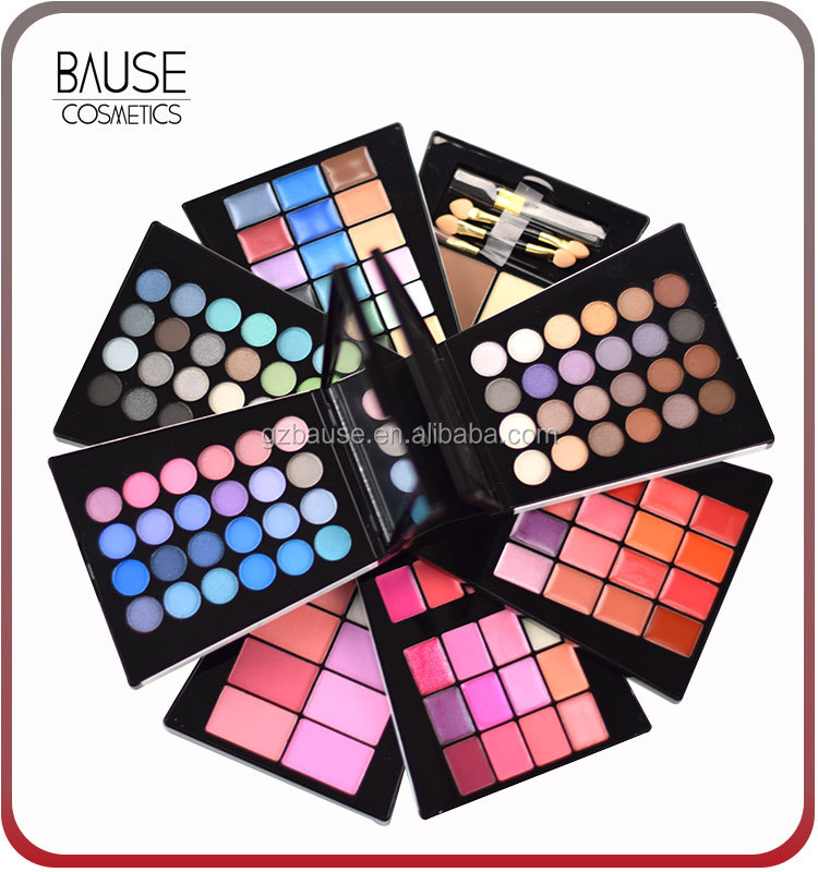 132 color makeup kit big cosmetics eyeshadow blush palette kit
