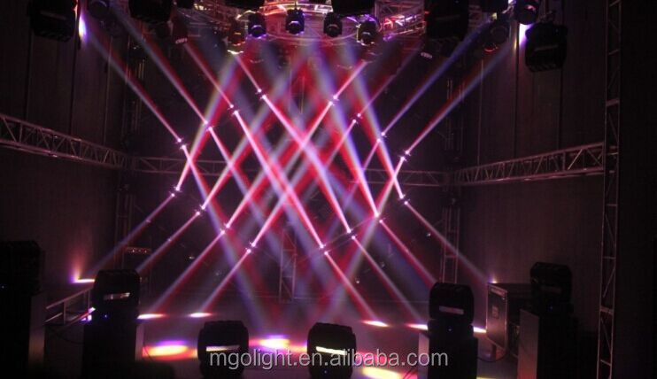 China factory professional 4x4 Roller Beam RGBW 360 moving head led stage light for sale