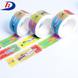 free samples box label washi color tape