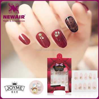 New Products 2017 Jewelry 3d Nails Accesories Decorative Nail Art
