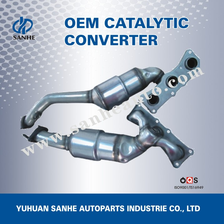OEM Standard Exhaust Muffler Catalytic Converter