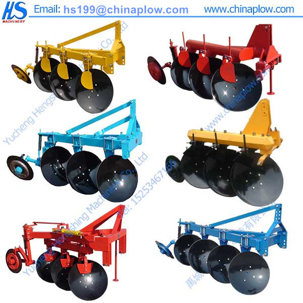 Durable To Use Farm Equipment One Way Disc Plough / Used Tractor ...